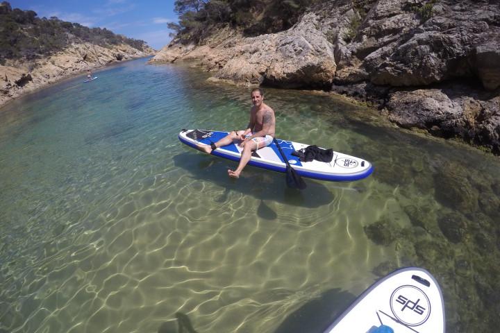 Paddle surf Tossa de Mar.