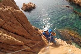 Vía ferrata-Cala del Molí-Tossa de Mar.