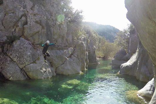 Trekking acuático